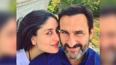 On Kareena Kapoor Khan's 41st Birthday, Actress Teases Fans With a Loved-Up Click With Saif Ali Khan!