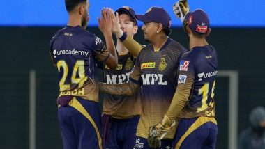 KKR vs RCB Ahmedabad Weather, Rain Forecast and Pitch Report: Here's How Weather Will Behave for Kolkata Knight Riders vs Royal Challengers Bangalore IPL 2021 Clash at Narendra Modi Stadium