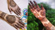 Eid 2021 5-Minute Mehndi Designs: Quick Arabic and Indian Mehendi Patterns You Can Easily Try at Home for Eid al-Fitr (Watch Tutorial Videos)