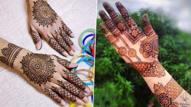 Ramadan 2021 Mehendi Design: Arabic, Indian, Full-Hand, Back-Hand and Vine-Style Mehndi Patterns to Apply During Ramzan (Watch Mehandi Video Tutorial)