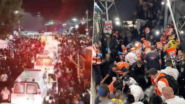 Israel: Stampede Breaks Out During Celebration of Lag B'Omer at Mount Meron, 28 Killed, 50 Injured