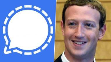 WhatsApp Rival Signal Takes Jibe at Facebook CEO Mark Zuckerberg for Using Its App