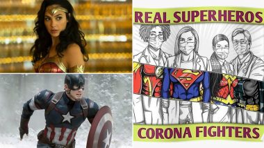 National Superhero Day 2021: Captain America, Wonder Woman, COVID-19 Frontline Warriors & Others, Tweeple Honour Both Real and Fictional Superheroes
