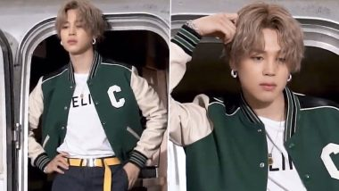 BTS' Park Jimin in CELINE: Super HOT Pics and Video of the K-Pop Star Has ARMY Flood Twitter with Praises!
