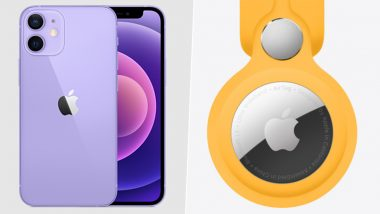 Apple iPhone 12 Mini, iPhone 12 Purple Variants & AirTag Now Available For Sale in India