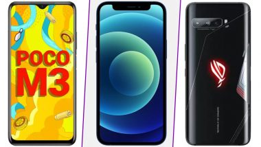Gudi Padwa & Ugadi 2021 Discounts on Mobiles: Up to Rs 31,000 Off on Apple iPhones, RoG Phone 3, Poco M3, Realme 7 & More
