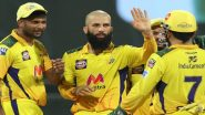 CSK vs RR IPL 2021 Stat Highlights: Moeen Ali's All-Round Performance Helps Chennai Super Kings Beat Rajasthan Royals by 45 Runs