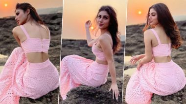 Mouni Roy's Pretty Pink Separates is Just What You Need for Summers (View Pics)