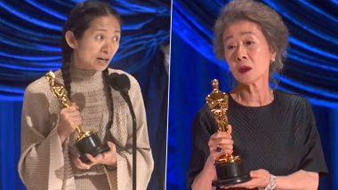 Oscars 2021: Minari Star Yuh-Jung Youn, Nomadland's Chloé Zhao, Ma Rainey's' Mia Neal and Jamika Wilson Create History At The 93rd Academy Awards
