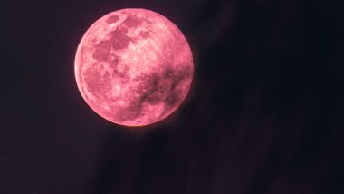 Super Pink Moon 2021 Date and Time: How to Watch April Full Moon? All You Need to Know About the Celestial Event