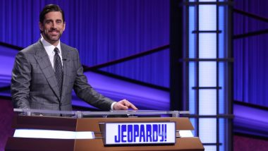 Jeopardy Guest Host Aaron Rodgers Remembers Late Alex Trebek, Says 'Being Part of the Late Legend's Show Is an Honor of a Lifetime'