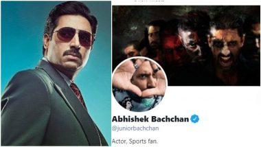 Abhishek Bachchan's Twitter Profile Picture Reveals an Interesting Story Behind His Flop Mani Ratnam Film, Raavan (Watch Video)