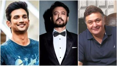 Oscars 2021: Did the Academy Awards Pay Tribute to Sushant Singh Rajput, Rishi Kapoor Apart From Irrfan Khan in 'In Memoriam' Segment? Here's the Truth!