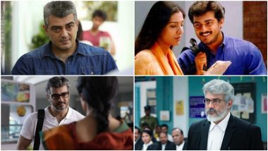 Ajith Kumar Birthday Special: From Mankatha to Nerkonda Paarvai, 7 Best Films of Thala Ranked As per IMDB Rating (LatestLY Exclusive)