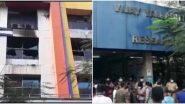Maharashtra Hospital Fire: 13 COVID-19 Patients Dead After Fire Breaks Out at Vijay Vallabh COVID-19 Care Hospital in Virar