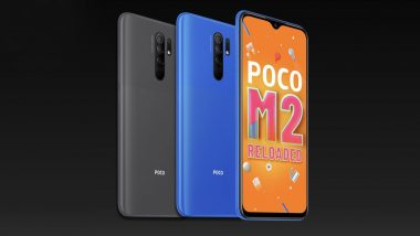 Poco M2 Reloaded With Quad Rear Cameras Launched in India at Rs 9,499