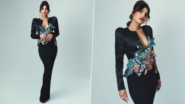 BAFTA Awards 2021: Priyanka Chopra Jonas Makes Yet Another Brilliant Red Carpet Appearance in Her Black Ronald van der Kemp Design