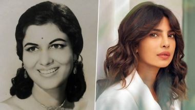 Priyanka Chopra Jonas Remembers Late Actor Shashikala, Says 'She Has Left Behind Indelible Mark on Cinema' (View Post)