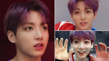 BTS' Jungkook's Purple Hair Is Going Viral on Twitter as the ARMY Shares Pics and Videos of the K-Pop Star!