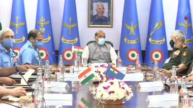 IAF Commanders' Conference 2021: Defence Minister Rajnath SIngh Attends Inaugural Session of The Bi-Annual Conference