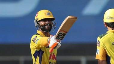 CSK vs RCB, IPL 2021 Stat Highlights: Ravindra Jadeja's All-Round Show Sends Chennai Super Kings to the Top of Points Table (Watch Video)