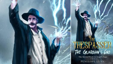 Author Penelope Lynn Announces the Release of the Trespasser: The Guardian's End, the Second Book in the Explosive Angel's Saga Series