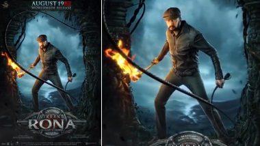 Vikrant Rona: Kichcha Sudeep's Fantasy Adventure Heads for Worldwide Release on August 19,2021