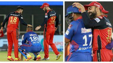 Virat Kohli Consoles Shimron Hetmyer & Rishabh Pant After DC Losses to RCB by 1 Run in IPL 2021 Match (Watch Video)