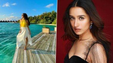 Shraddha Kapoor Shares a Picture From Her Holiday in Maldives, Captions It 'Running Back to Nature'