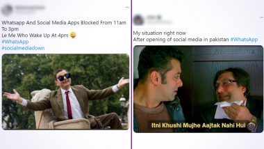 WhatsApp Funny Memes & Jokes Go Viral As the Facebook-Owned App Is Back Following Four-Hour Ban in Pakistan! VPN, Hera Pheri Meme Templates & More, LOL at Hilarious Posts