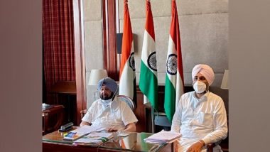 Punjab CM Amarinder Singh Directs Procurement Agencies To Ensure Prompt Lifting, Timely Payment to Farmers Through DBT