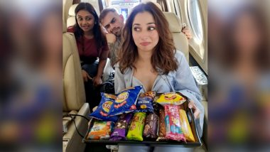 Tamannaah Bhatia Shares an Adorable Picture With Her Breakfast but It Is Virat Kohli's Doppelganger That Has Caught Everyone's Eye (View Pic)