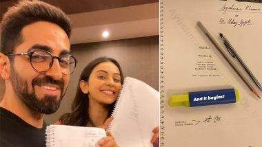 Doctor G: Ayushmann Khurrana Begins Shooting for His Forthcoming Anubhuti Kashyap's Directorial (View Pics)