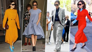 Victoria Beckham Birthday: She Doesn't Do Fashion, She Is Fashion! (View Pics)