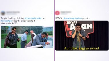 CoWIN Server Crash Churns out Funny Memes and Jokes Reminding Netizens of IRCTC as Vaccine Registration for 18+ Begins