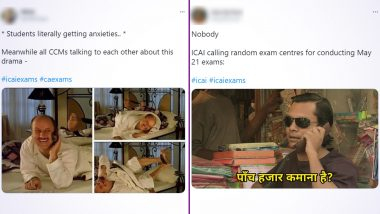 ICAI CA Funny Memes and Jokes Take over Twitter as Students Await Cancellation of Exams