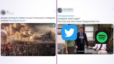 Instagram Down Funny Memes and Jokes Are Here to Stay! Hilarious Posts Take Over Twitter as the Social Media Platform Recovers from Brief Outage