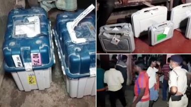 West Bengal Assembly Elections 2021: Tapan Sarkar, Sector Officer, Suspended After EVMs and VVPATs Were Found at TMC Leader's House in Uluberia