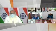 COVID-19 Surge in India: PM Narendra Modi Chairs High-Level Meeting With CMs of 11 States and UTs, Assures Centre's Full Support