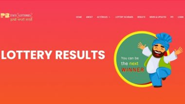 Punjab State Dear Baisakhi Bumper Lottery 2021 Result: Know Prize Money and How To Check Punjab Lottery Result Online at punjabstatelotteries.gov.in