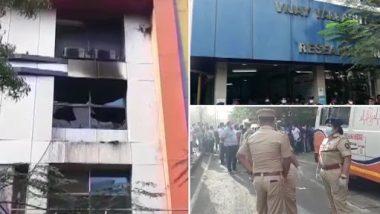 Maharashtra Hospital Fire: 13 COVID-19 Patients Dead After Fire Breaks Out at Vijay Vallabh COVID-19 Care Hospital in Virar, CM Uddhav Thackeray Orders Probe