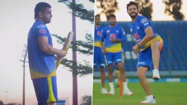 IPL 2021: MS Dhoni, Suresh Raina Fine-Tune Skills in Chennai Super Kings' Training Session
