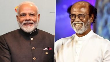 Rajinikanth To Be Conferred With Dada Saheb Phalke Award 2019, PM Narendra Modi Congratulates the Thalaiva for Receiving India's Highest Film Honour