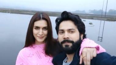 Bhediya: Kriti Sanon Posts a Clip With Co-Star Varun Dhawan As They Wrap Their Film's Shoot in Arunachal Pradesh
