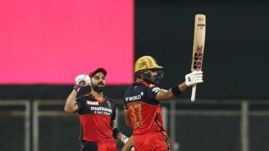 RCB vs RR, IPL 2021 Stat Highlights: Devdutt Padikkal's Century, Virat Kohli's 6k Runs in IPL and Other Stats As Royal Challengers Bangalore Record Stunning 10-Wicket Win