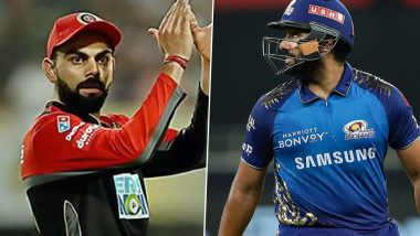 MI vs RCB, IPL 2021: Here's How Virat Kohli and Rohit Sharma Fared in Previous Edition
