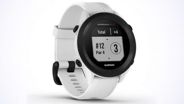 Garmin Approach S12 GPS Golf Watch Launched in India at Rs 20,990