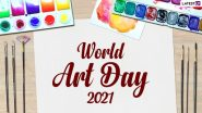 World Art Day 2021: Twitterati Share Stunning Images of Paintings, Sketches & More to Honour the Birth Anniversary of Leonardo da Vinci