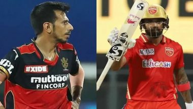 KL Rahul Responds to Yuzvendra Chahal After RCB Player Trolls PBKS Captain and Chris Gayle Over Red Shirts