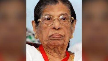 KR Gouri Amma, First Revenue Minister of Kerala, Dies at Hospital in Thiruvananthapuram at 102 Years
